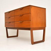 1960's Vintage Mahogany Sideboard / Chest of Drawers (4 of 10)