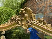 Large French Rococo Gilt Mirror (4 of 5)
