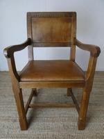 """Oak Armchair by """"Lizardman"""" Yorkshire (6 of 10)"""