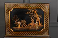 Black Japanned Chinoiserie Cabinet on Stand (11 of 12)