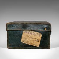 Antique Travel Case, Leather, Salesman's Suitcase, JW Allen, Strand, Edwardian (8 of 12)