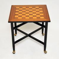 1960's Vintage Games / Chess Table (2 of 10)