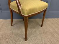Painted Satinwood Armchair by Jas Shoolbred (9 of 14)