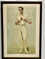 """Collection of 4 Vanity Fair Cricketing  Themed """"Spy""""Prints (3 of 11)"""