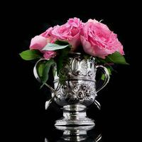 Georgian Solid Silver Loving Cup / Two Handled Cup - London 1748 (5 of 28)