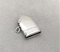 First World War novelty silver 'shell' vesta (9 of 9)