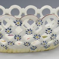 Fine Derby Porcelain Spectacle Basket c.1760-1765 (13 of 13)