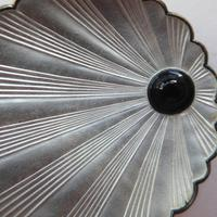 Silver & Enamel Norwegian Shell Brooch (8 of 9)