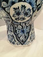 Superb 18th Century Dutch Delft Vase (4 of 10)