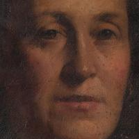 19th-Century French School Portrait Of A Lady, Oil Painting (5 of 7)