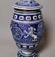 Antique Tobacco Jar, Westerwald, 19th Century (13 of 13)