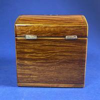 George III Partridge Wood Tea Caddy (6 of 12)
