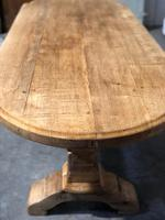 Large Oak Farmhouse Table with Extensions (9 of 30)