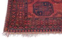 """Vintage / Retro Wool Rug Roughly 6'8"""" x 4'4"""" (3 of 7)"""