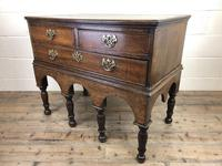 Georgian Oak Chest on Stand (9 of 13)