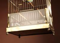 Brass Very Decorative Bird Cage c.1920 (5 of 8)