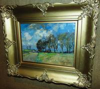 Rural Scene Oil on Board by W.B.Lamond (2 of 6)