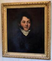 Fine Regency Period Oil Portrait of a Gentleman (4 of 9)