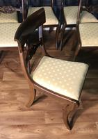 Mahogany Dining Table & Set of 10 Regency Style Chairs (8 of 19)