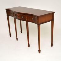 Antique Sheraton Style Mahogany Server / Side Table (3 of 12)