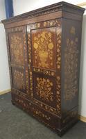 18th / 19th Century Inlaid Dutch Wardrobe (2 of 17)