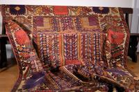 Large Mid 20th Century Colourful Flat Weave Woolen Rug (5 of 15)