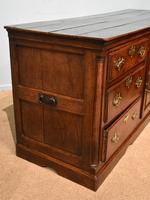 Mid 18th Century George III Large Oak Dresser Base (7 of 11)
