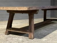 Huge Rustic French Oak Farmhouse Dining Table (11 of 35)