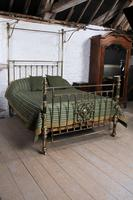 Spectacular Victorian All Brass Half Tester (4 of 16)