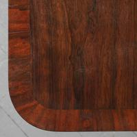 Antique William IV Rosewood Fold Over Tea Table (7 of 10)