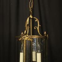 French Gilded Bronze Triple Light Lantern (2 of 10)