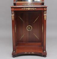 19th Century Mahogany Mirrored Consul Table (9 of 12)