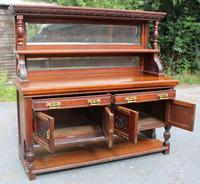 1920s Large Mahogany Aesetic Style Sideboard with Good Hardware (2 of 5)