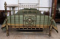Spectacular Victorian All Brass Half Tester (6 of 16)