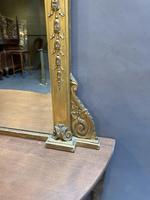 19th Century Gilt Overmantle Mirror (2 of 5)