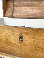19th Century Antique Oak Dome Top Trunk (9 of 13)