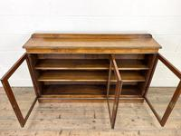 19th Century Glazed Walnut Bookcase (7 of 14)