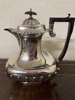 Edwardian William Aitken Solid Silver Tea & Coffee Set Birmingham 1903 (8 of 14)