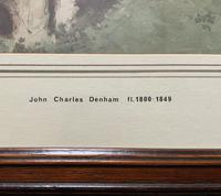John Charles Denham (Exh.1796-1858) Fine Original Landscape watercolour Painting (10 of 13)