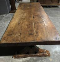 Huge Rustic Chestnut French Farmhouse Dining Table (7 of 27)