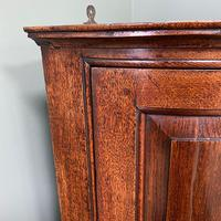Stunning Georgian Oak Antique Corner Cupboard (6 of 6)