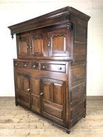 18th Century Welsh Oak Deuddarn Cupboard (3 of 12)