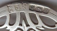 Sheffield 1899 Hallmarked Solid Silver Nurses Belt Buckle Joseph Rodgers & Sons (6 of 8)