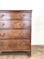 Georgian Oak Small Chest of Drawers (4 of 10)
