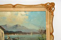 Antique Italian Landscape Oil Painting by Tardini (7 of 10)
