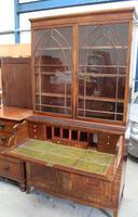 Large Mahogany Regency Secretaire Bookcase c.1820 (3 of 7)