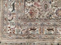 Vintage Anatolian Kayseri Silk Rug 2.22m x 1.51m (3 of 17)