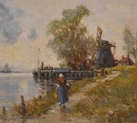 Oil Painting by Alfred Sanderson Edward RBA (6 of 9)