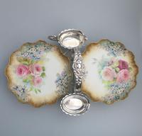 Good Royal Doulton Burslem Dessert Strawberry Stand 19th Century (5 of 12)