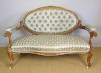 Good Quality Victorian Sofa in the French Taste